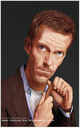 Gregory House M.D- Charicature by Zazukudap