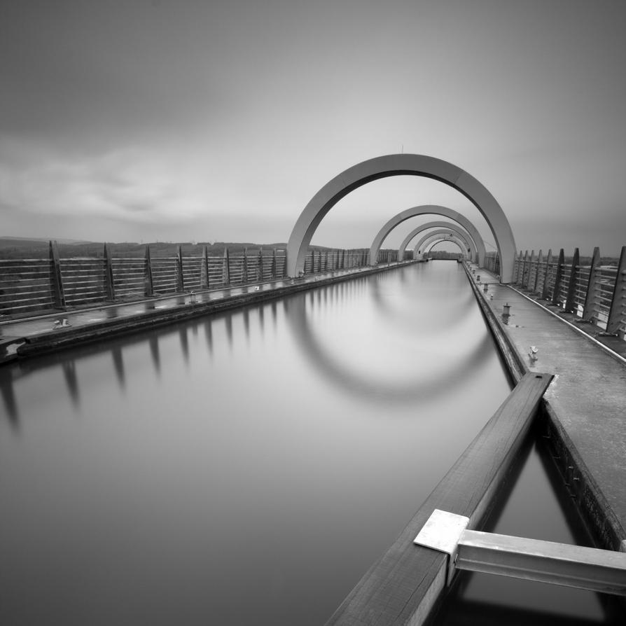 Falkirk Wheel by DamianKane