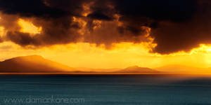 Sunset over The Minch