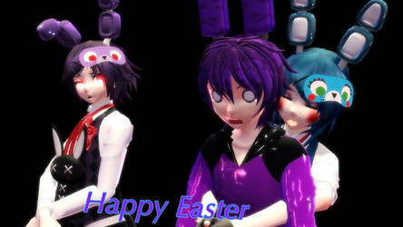 [MMD Fnaf] Happy Easter by Insanity9807