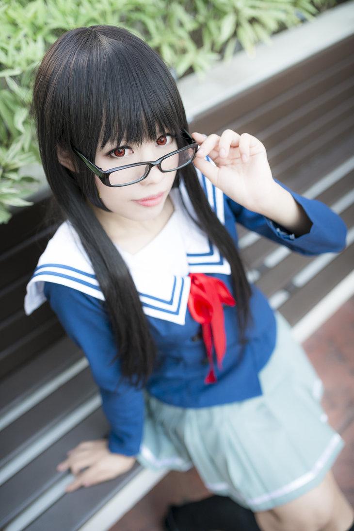 Kyoukai no kanata 2- Mitsuki Nase by ikabii