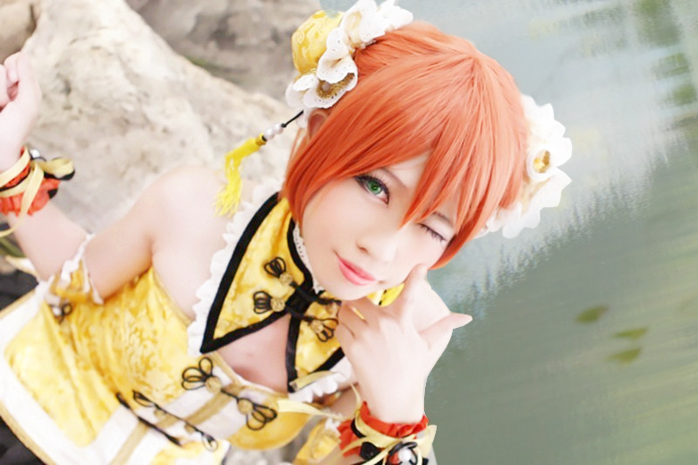Love Live! Hoshizora Rin by ikabii