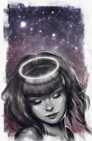 Angel of night by aynnart
