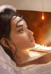 Study Light by aynnart