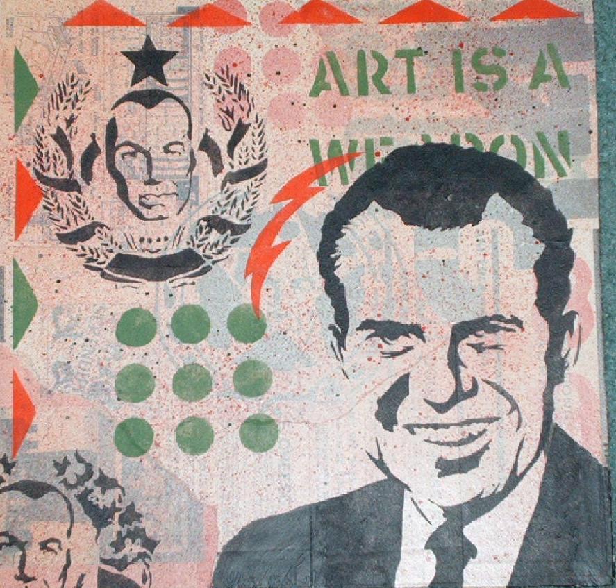 Richard Nixon by EdwardAbbieyHoffman