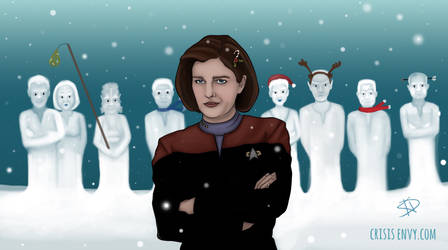 Delta Quadrant Snow Man Competition by CrisisEnvy