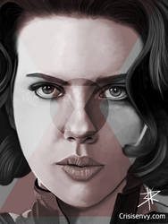Black Widow  by CrisisEnvy