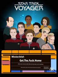 Star Trek Voyager by CrisisEnvy
