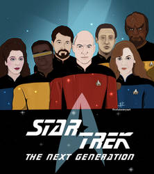 Star Trek The Next Generation by CrisisEnvy