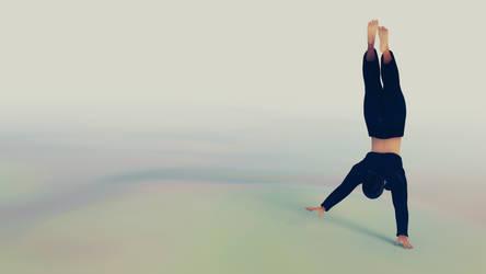 Handstand Fedora by pfrh