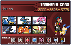 Trainer Card 3 for PBR by Vakamatje
