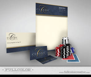 Classic Pub Poker Corporate ID by FullcolorCreative