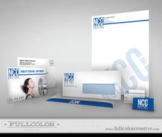 North County Cooling Corp ID by FullcolorCreative