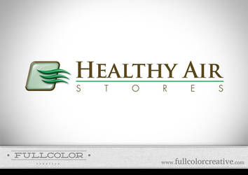 Healthy Air Stores Logo by FullcolorCreative