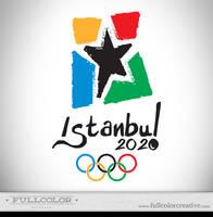 Istanbul Olympic Logo 2020 by FullcolorCreative