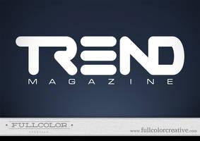 Trend Magazine Logo by FullcolorCreative