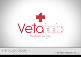 Vetalab Healthcare Logo by FullcolorCreative