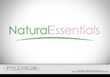 Natural Essentials Logo by FullcolorCreative