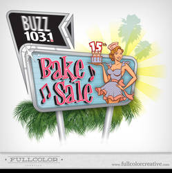 2010 Buzz Bake Sale Finalist by FullcolorCreative