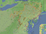Map of Equestria [MLP:FIM]