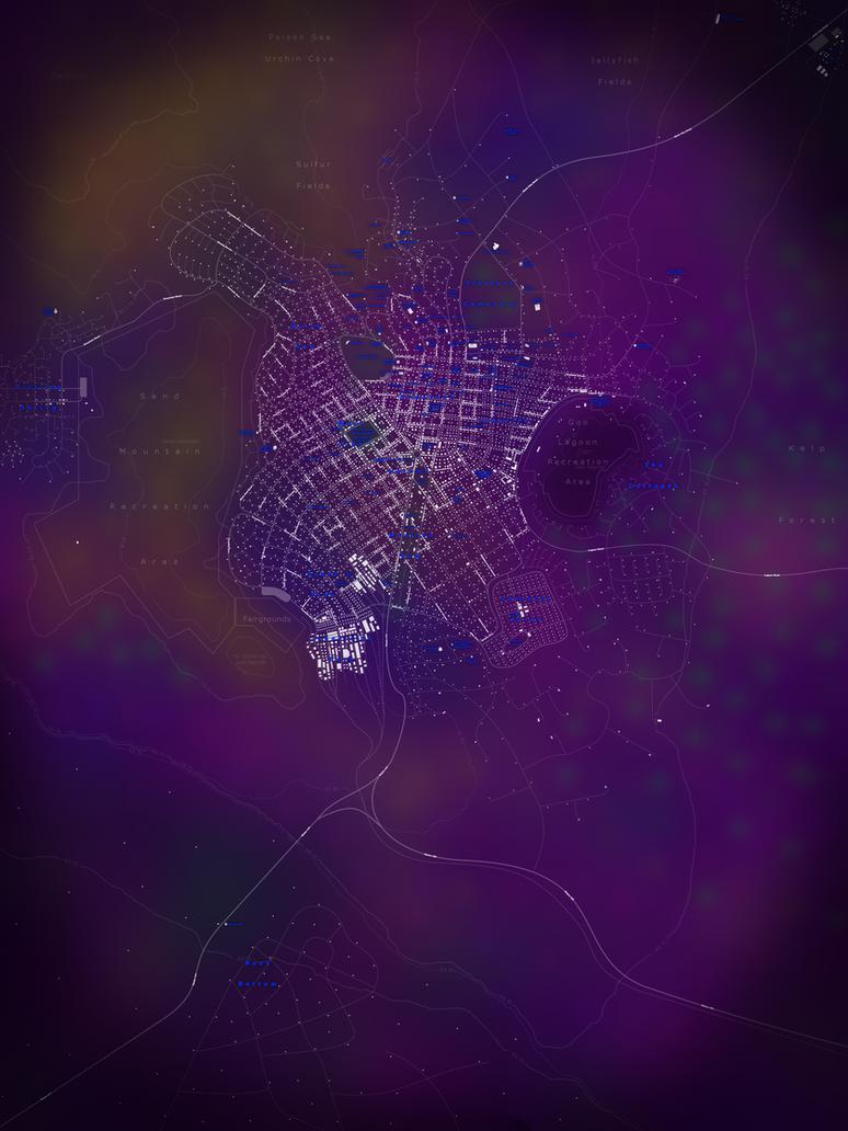 map of bikini bottom by djinn327 on deviantart