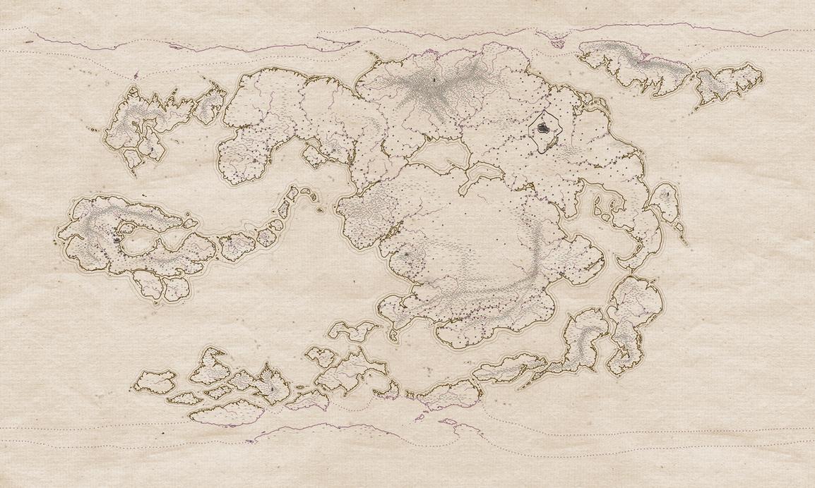 Avatar Physical World Map by djinn327