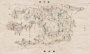 Avatar Political World Map