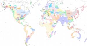 World Map, 1925 [ACW]