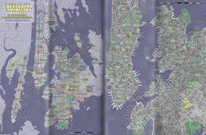 Map of Manehattan [MLP:FIM]