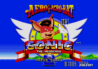 Aero the Acro-Bat In Sonic the Hedgehog 2 by MrSmithsonian93