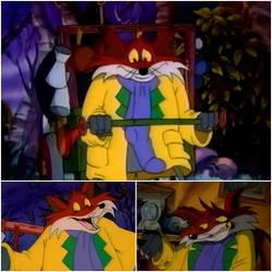 Lesser-Known Cartoon Animals: The Fox by MrSmithsonian93