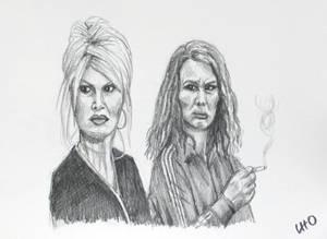 Edina and Patsy