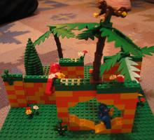Jay's Lego Green Hill Zone