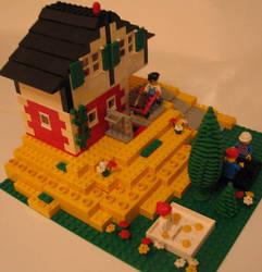 Lego Pub - external view 2