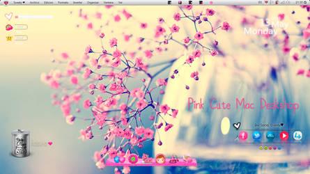 Pink Cute Desktop by TsuyucitaSweet