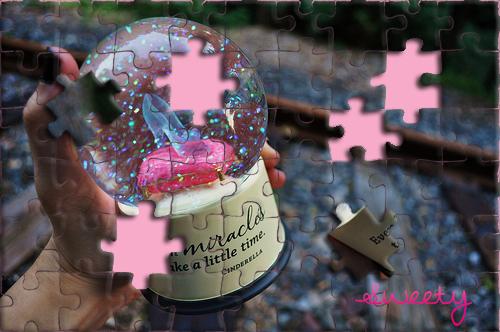 Efecto Puzzle Bola de Cristal by TsuyucitaSweet