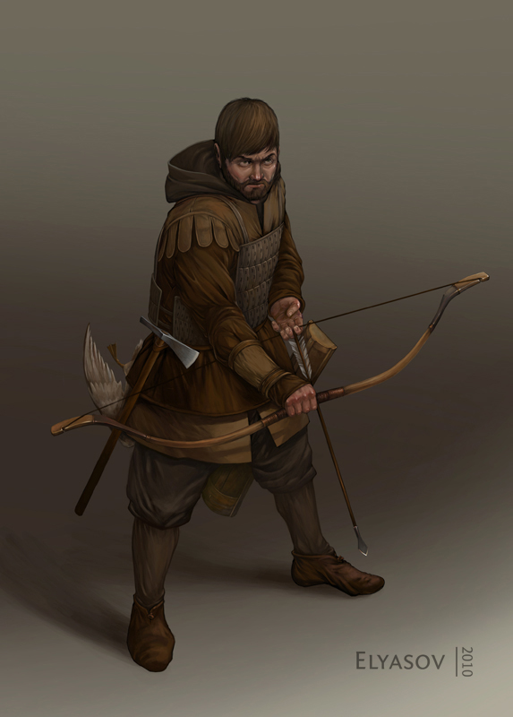 Militia hunter by ShumElkin