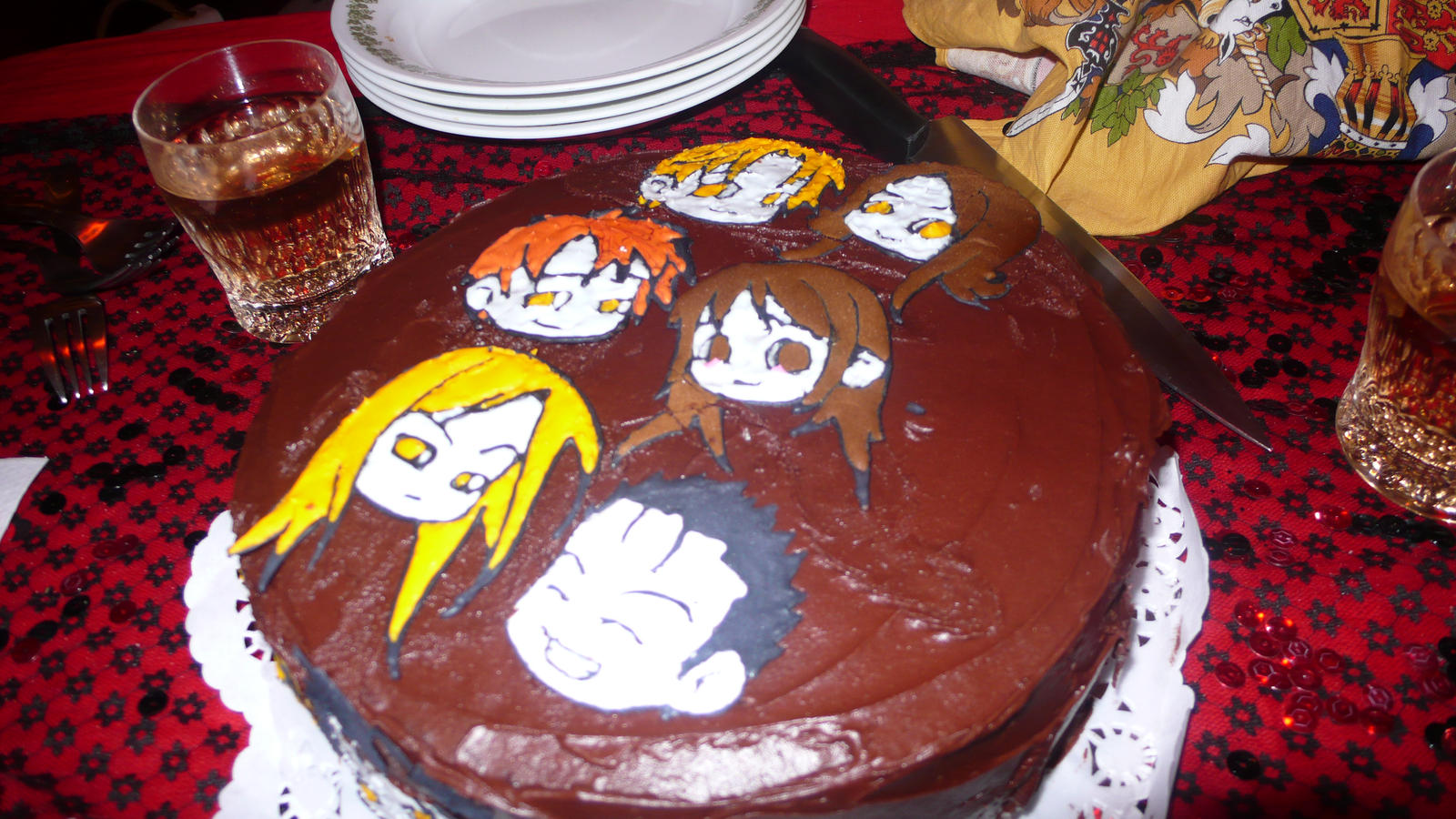 Cullen Cake 1 by Kawaii-Chibi-Freaks