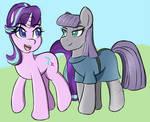 Starlight and Maud Pie