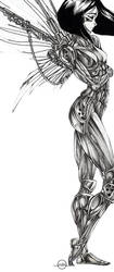 battle angel alita by rubitutubi