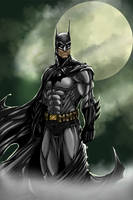 The Dark Knight by KateColorArt