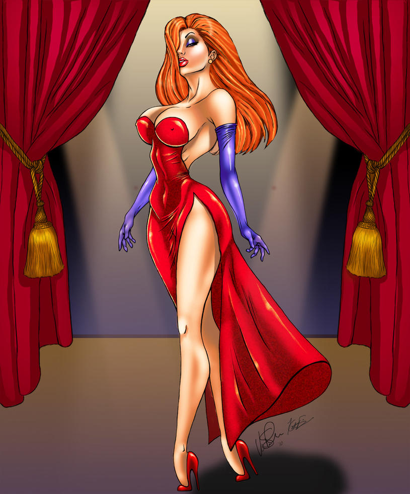 Jessica Rabbit by KateFinnegan