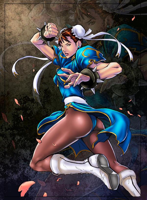 Chun Li Colors by FlashColorist