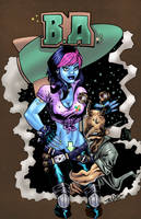 Battery Acid pinup colors by KateColorArt