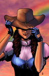 Wicked West by KateColorArt