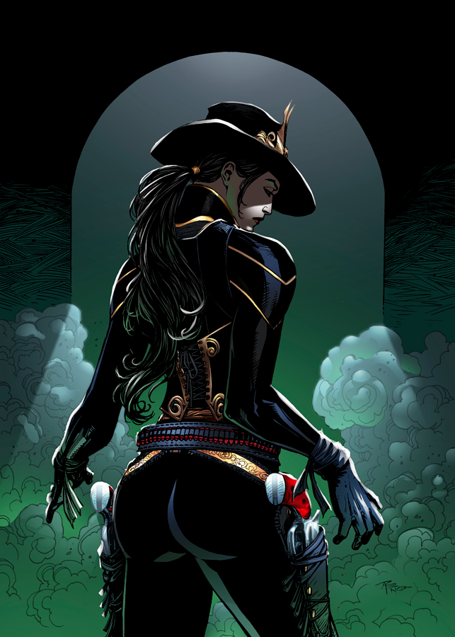 The Legend of Oz: Wicked West Issue 16 Cover A by FlashColorist