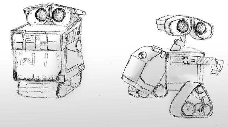 WALLE sketches by haylin606