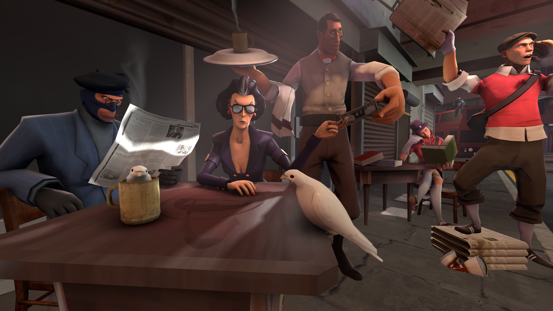 SFM Poster : Good Old Times by Olderika