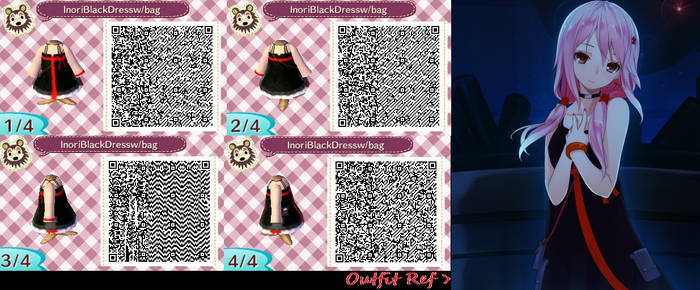 Animal Crossing Black Dress With Bag