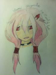 Inori Yuzuriha art 1-10-14 by me by VesselofEve